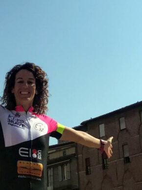 """Paola Gianotti: una visione sociale ed etica per una ciclista """"di valori""""."""